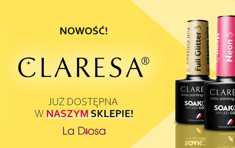 Lakiery hybrydowe Claresa w sklepie LaDiosa.pl